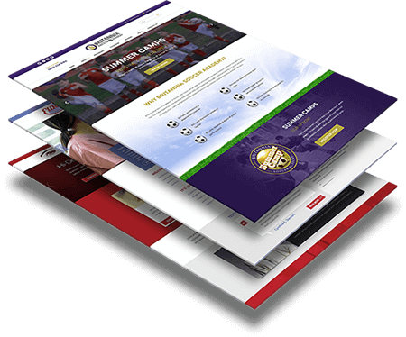 Website Template and Free Mock Up Design